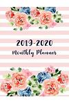 2019-2020 Monthly Planner: Two Year Calendar Planning Time Management for Everyone