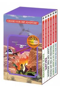 6-Book Box Set, No. 2 Choose Your Own Adventure Classic 7-12: : Box Set Containing: Race Forever Escape Lost on the Amazon Prisoner of the Ant People