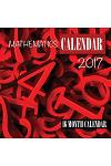 Mathematics Calendar 2017: 16 Month Calendar