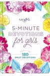 5-Minute Devotions for Girls: Featuring 180 Daily Devotions