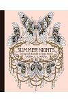 Summer Nights Coloring Book: Originally Published in Sweden as Sommarnatt