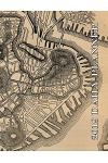 2019 Daily Planner: Historical Boston Map Cover with Full Weekly View in a Horizontal Format. This Is a Classic Schedule Manager for 365 D