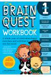 Brain Quest Workbook: Grade 1 [With Stickers]