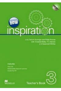 New Edition Inspiration Level 3: Teacher's Book & Test CD & Class Audio CD Pack
