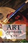 Art Notebook: 6 X 9