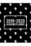 2019-2020 Academic Planner: Beauty Black Book, 8.5 X 11 Two Year Planner Academic 2019-2020 Calendar Book Weekly Monthly Planner, Agenda Planner,