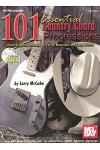 101 Essential Country Chord Progressions [With CD]