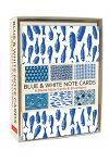 Blue and White Note Cards : 6 Blank Note Cards and Envelopes