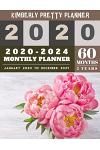2020-2024 monthly planner: 5 year monthly planner 2020-2024 - yearly and monthly planner to plan your short to long term goal with username and p