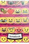 Notebook: Journal Dot-Grid, Graph, Lined, Blank No Lined: Emoji Vol.4: Pocket Notebook Journal Diary, 120 Pages, 7 X 10 (Blank N