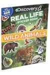 Discovery Real Life Sticker Book: Wild Animals