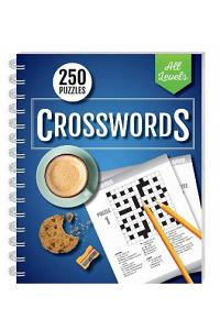 250 Puzzles: Crossword All Levels (wire-bound)