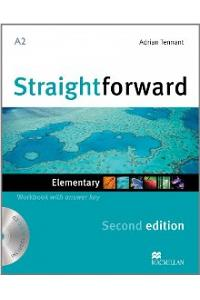 Straightforward Elementary Level: Workbook with Key + CD