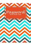 Password Book With Tabs: Art Colorful Book, The Personal Internet Address & Password Log Book with Tabs Alphabetized, Large Print Password Book