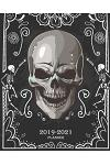 2019-2021 Planner: Beautiful Skull Cover, Monthly Calendar 36 Months Calendar Agenda Planner with Holiday 8 X 10