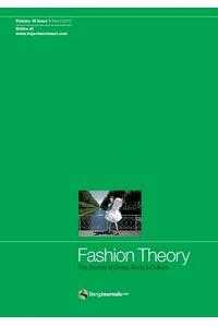 Fashion Theory: The Journal of Dress, Body and Culture