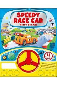 Speedy Race Car (Steering Wheel Sound Board)