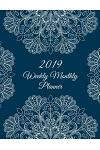 2019 Weekly Monthly Planner: Pretty Art Design, 8.5 X 11 Calendar Schedule Organizer, Daily/Weekly/Monthly/Yearly Planner, Daily to Do List, Schedu