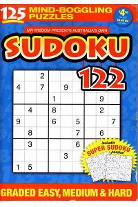 Mr Wisdom Sudoku - AU (1-year)