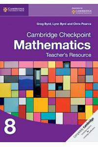 Checkpoint Mathematic Teacher Resources 8