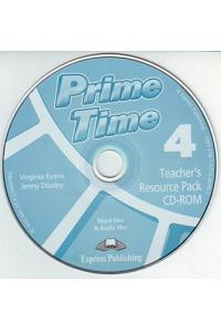 PRIME TIME 4 TEACHER'S RESOURCE PACK & TESTS CD-ROM