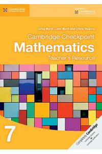 Checkpoint Mathematic Teacher Resources 7