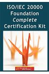 ISO/Iec 20000 Foundation Complete Certification Kit - Study Guide Book and Online Course