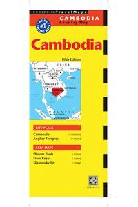 Cambodia Fifth Edition (Periplus Travel Maps)