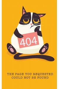404 The Page You Requested Could Not Be Found: Password Book Fun Animal for Cat Lovers