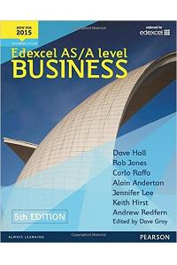 EDEXCEL AS/A LEVEL BUSINESS 5TH EDITION SBK AN