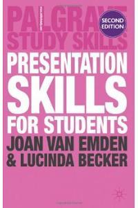 Presentation Skills For Students (Palgrave Study Guides)