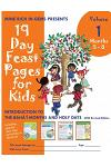 19 Day Feast Pages for Kids: Introduction to the Bahá'í Months and Holy Days - Months 5 - 8