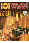 101 Red Hot Bluegrass Guitar Licks and Solos [With CD]