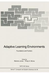Adaptive Learning Environments: Foundations and Frontiers