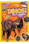 Dinos Sticker Activity Book [With Sticker(s)]