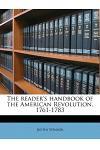 The Reader's Handbook of the American Revolution, 1761-1783