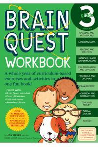 Brain Quest Workbook: Grade 3 [With Stickers]