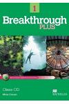 BREAKTHROUGH PLUS Class Audio CD (2) Level 1