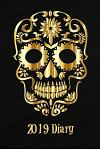 2019 Diary: Gold Sugar Skull Week to View Diary (6