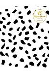 15 Months Planner October 2017 - December 2018, Monthly Calendar with Daily Planners, Passion/Goal Setting Organizer, 8x10, Leopard Black White: Effec
