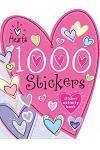 1000 Stickers I Love Hearts