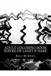 Adult Coloring Book: Waves of Light & Dark