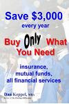 Save $3,000 every year: Buy Only What You Need
