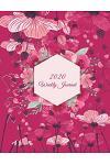2020 Weekly Journal: Pink Color, Weekly Calendar Book 2020, Weekly/Monthly/Yearly Calendar Journal, Large 8.5