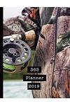 365 Planner 2019: Mens Professional Planner for All Your Diary and Organisational Needs - Fisherman