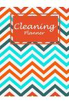Cleaning Planner: Art Colorful, 2019 Monthly Cleaning Log, Household Chores List, Cleaning Routine Weekly Cleaning Checklist Large Size