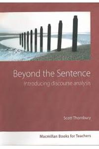 Beyond the Sentence: Introducing Discourse Analysis (Methodology)