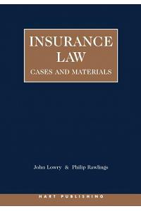 Insurance Law: Cases and Materials