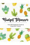 Budget Planner: Cute Cactus Large Budget Planner, (8.5x11 Inches): Expense Tracker for 24 Months