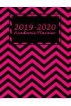 2019-2020 Academic Planner: Art Pink Book, Two Year Academic 2019-2020 Calendar Book, Weekly/Monthly/Yearly Calendar Journal, Large 8.5